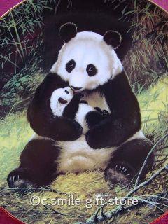 Will Nelson The Panda Endangered Species Plate Bradford Exchange w COA