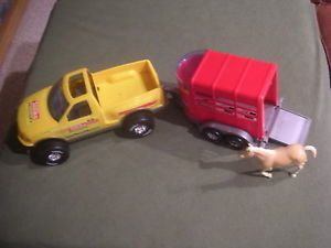 Tonka Rodeo Truck Trailer with Horse
