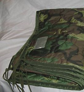 US Army ECW Sleeping System with Poncho Liner and Wet Weather Bag