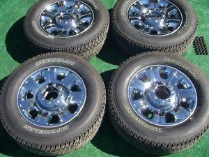"2014 Ford F250 F350 Super Duty Factory Chrome 20"" Wheels Michelin Tires 2005 14"