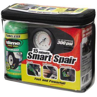 Slime Smart Spair Emergency Tire Repair Kit Motorcycle Tire Acc