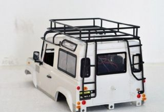 1 10 Scale RC Land Rover Defender D90 Craweler Body Kits Lunagage Set for RC4WD