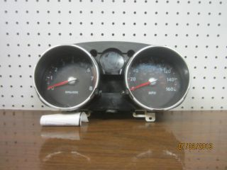 CL3598 09 Nissan Rogue Cluster Speedometer Unkown Miles