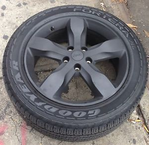 "4 Jeep Grand Cherokee 20"" Rims with 4 Goodyear Fotera 265 50 20 Tires"