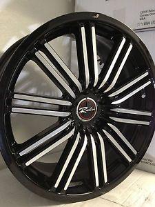 18 inch Raceline Bremtech Black Wheels Rims Ford Explorer Mustang Ranger 5x4 5