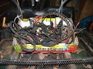 curtis sno pro 3000 truck and plow side wiring harnesses
