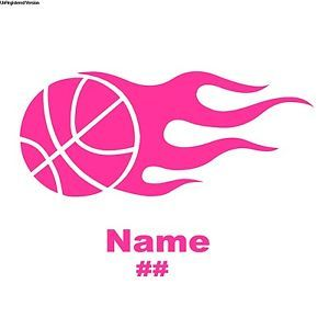 Pink Flame Decals