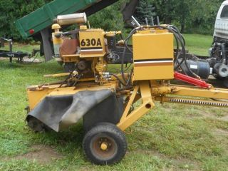 Vermeer 630A Stump Grinder w Wisconsin Gas Engine