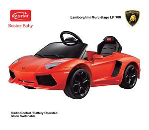 Licensed Lamborghini Ride on Toy Battery Operated Car for Kids Remote Control
