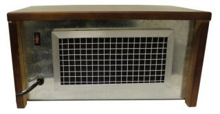 2 Suntech Electric 750 Watt Infrared Quartz Portable Space Heaters Mahogany