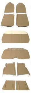 Fiat 600 Multipla Brown Seat Covers New