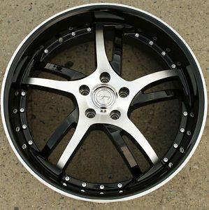 Legacy LG509 20 x 8 0 Black Rims Wheels Dodge Avenger 95 00 5H 38