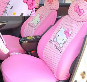 Leopard Print Hello Kitty Car Seat Cover Car Seat Cover
