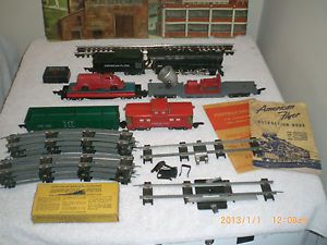 American Flyer Trains Engine Locomotive Freight Set Eng 342 0 8 0 Switcher Set
