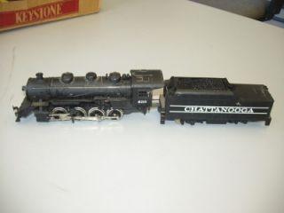 HO Tyco Chattanooga 638 Steam Locomotive Engine 2 8 0