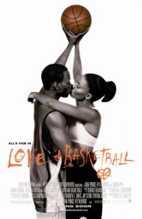 Love and Basketball Movie Mini Promo Poster Omar Epps Sanaa Lathan Alfre Woodard