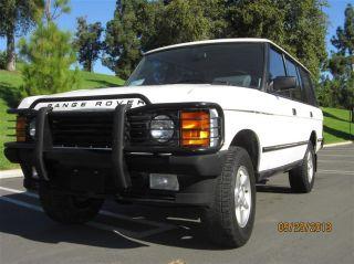 1993 Land Rover Range Rover County LWB Sport Utility 4 Door 4 2L