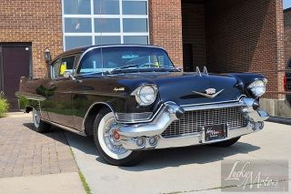 1957 Cadillac Coupe DeVille PWR Seats Windows Air Condition Drives Great
