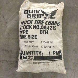 Quik Grip Truck Tire Chains