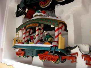 Holiday Express Animated Train 384 G Scale Christmas RR Trains Set in Box