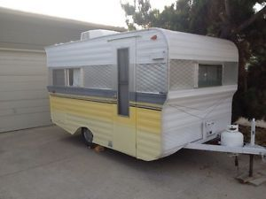 1965 Little Dipper Vintage Travel Trailer