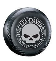 Harley Davidson Willie G Skull Design Spare Tire Cover CAR786
