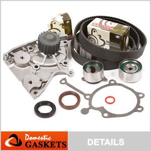 88 93 Ford Probe Mazda 626 B2200 MX6 2 2L SOHC Timing Belt Water Pump Kit F2