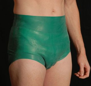 Large Gummi Latex Green Incontinence Plastic Pant Adult Diaper Cover AB DL