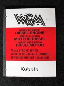 Kubota Z500 Z600 D650 D750 D850 D950 V1100 V1200 B Diesel Engine Service Manual