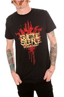 Suicide Silence The Black Crown T Shirt