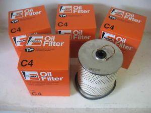 Many Car Truck Tractor Fram C4 C 4 Oil Filter Lot 4 Four