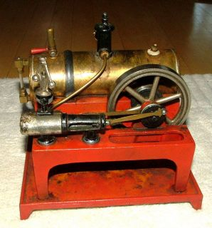 Toy Antique Vtg 1930's Weeden Mfg Co Live Stationary Steam Engine No 648