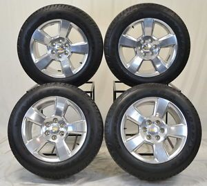 """20"""" Chevrolet Chevy Silverado 1500 Truck Wheels Rims Tires Factory 2014"""