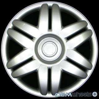 """4 New Silver 15"""" Hub Caps Fits 1983 Current Toyota Camry Wheel Covers Set"""