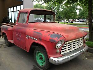 OG Vintage 1955 57 Chevy 3100 3600 3800 Pickup Truck Shortbox w Spare Tire