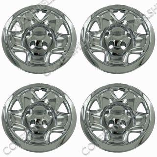 "4 PC Set Tacoma 16"" Chrome Wheel Skins Hubcaps Covers Hub Caps Truck Wheels 6LUG"