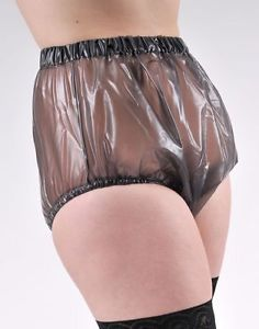 Adult Baby Plastic Pull on Pants PVC Incontinence