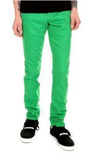 RUDE Kelly Green Skinny Fit Denim Jeans