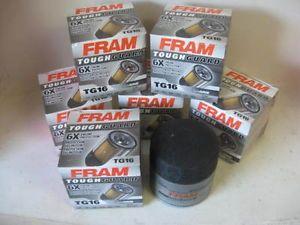 Fram Tough Guard TG16 Oil Filter Case Lot 6 Six Fits PH16 51085 L14670 PH253