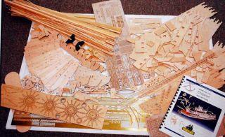 Model Shipways Chaperone Sternwheel Steam SHIP Wood Kit