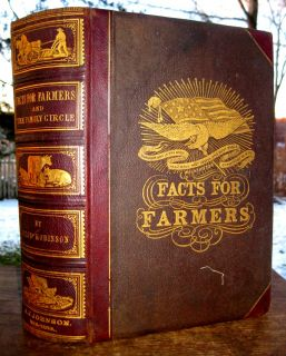 Antique Victorian Farm Guide Barn Architecture Bees Wine Vineyard Horse Tobacco