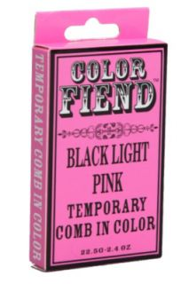 Color Fiend Black Light Pink Temporary Comb In Color