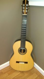 Hand Made 2009 Keith Adams Classical Acoustic Guitar German Spruce