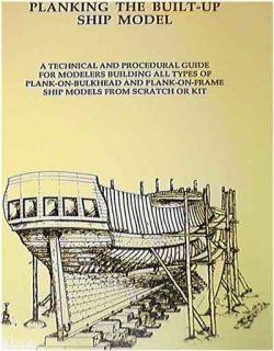 Model Shipways Planking Built Up SHIP Model Book