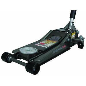 Low Profile Floor Jack with Rapid Pump® 2 5 Ton Heavy Duty Steel New Item
