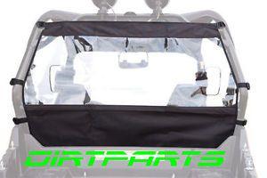 Tusk UTV Rear Window Dust Kit Yamaha Rhino 450 660 700