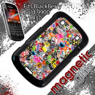 JDM Sticker Bomb Blackberry 9900 9930 Cover Case ILLEST Stance hellaflush Sleep