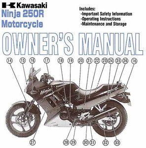 kawasaki ninja 250r owners manual