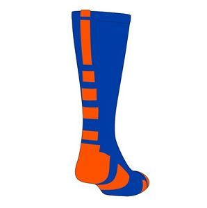 Baseline Elite Socks Royal Blue Orange Large proDRI Fabric BNIB