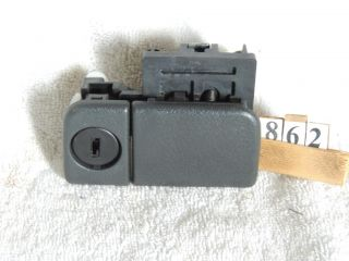 Vitara Glove Box Latch Handle Tracker Gray Tracker Suzuki 99 00 01 02 03 04